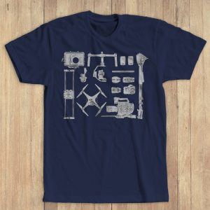 gear bag tee navy